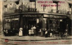 Epinay-sur-Seine Avenue du Chemin de Fer Café de l'Avenir - Épinay-sur-Seine