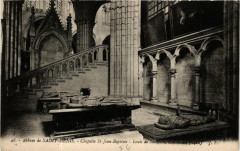 Abbaye de Saint-Denis Chapelle St-Jean-Baptiste 93 Saint-Denis