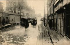 Crue de la Seine -Saint-Denis -La rue du Port -28 Janvier 1910 93 Saint-Denis
