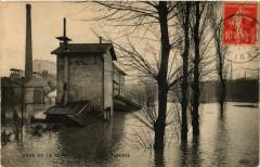 Crue de la Seine -Saint-Denis -Le 28 Janvier 1910 93 Saint-Denis