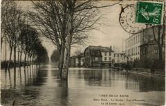 Crue de la Seine-Saint-Denis -La Briche - Vue d'Ensemble -le 28 Jan 93 Saint-Denis