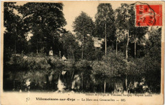 Villemoisson-sur-Orge - La Mare aux Grenouilles - Villemoisson-sur-Orge