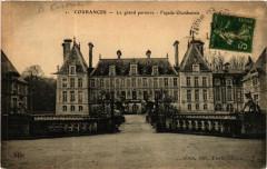 Courances - Le Grand Parterre - Facade Occidentale - Courances