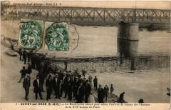 Juvisy-sur-Orge - l'arrivée du bateau des Veterans - Juvisy-sur-Orge