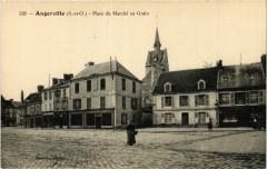 Angerville - Place du Marché au Grain - Angerville