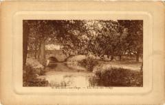 Saint-Michel-sur-Orge - Un Pont sur l'Orge - Saint-Michel-sur-Orge