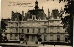 Le Château de Lormoy - Façade principale, vue de la route de Longpont - Longpont-sur-Orge