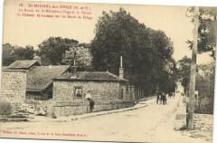 La Route de Saint-Michel-sur-Orge et la Ferme du Château de Lormoy sur les Bords de l'Orge - Saint-Michel-sur-Orge