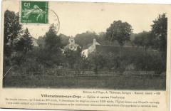 Villemoisson sur Orge-Eglise et ancien Presbytére - Villemoisson-sur-Orge
