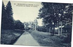 Morsang sur Seine-Perspective du Cháteau des Roches - Morsang-sur-Seine