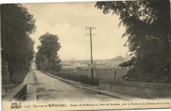 Route de Saint-Michel au Pont de Gouteau près la Vacherie du Château de Lormoy - Saint-Michel-sur-Orge