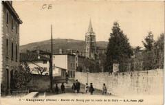 Vaugneray - Entrée du Bourg par la route de la Gare 69 Vaugneray