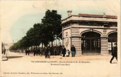 Villefranche-sur-Saone Gare du Chemin de fer du Beaujolais - Villefranche-sur-Saône