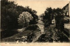 Oullins - L'Ytzeron vu du Pont - Env. de Lyon - Oullins