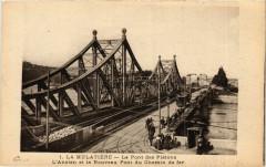 La Mulatiere - Le Pont des Pietons - Pont du Chemin de Fer - La Mulatière