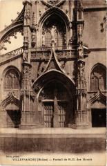 Villefranche-sur-Saone - Portail de N.-D. des Marais - Villefranche-sur-Saône