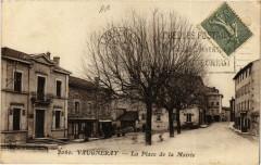 Vaugneray - La Place de la Mairie 69 Vaugneray