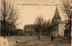 Venissieux - La Place Léon Sublet - Vénissieux