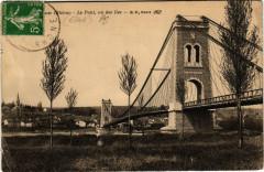 Vernaison Le Pont, vu des Iles - Vernaison