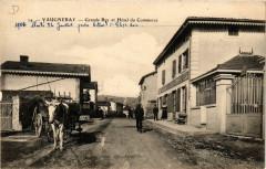 Vaugneray - Grande Rue et Hotel du Commerce 69 Vaugneray