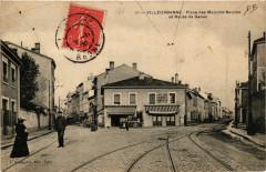 Villeurbanne - Place des Maisons-Neuves et Route de Genas 69 Villeurbanne
