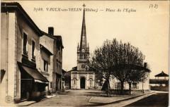 Vaulx-en-Velin - Place de Eglise - Vaulx-en-Velin