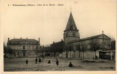 Venissieux - Place de la Mairie - Eglise 69 Vénissieux