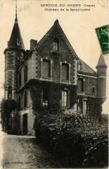 Serezin-du-Rhone - Chateau de la Saraziniere - Sérézin-du-Rhône