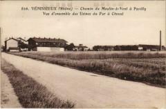 Venissieux Chemin du Moulin-a-Vent a Parilly, Usines 69 Vénissieux