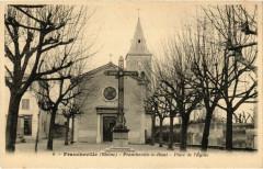 Francheville - Francheville-le-Haut - Place de l'Eglise - Francheville