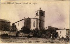 Duerne - Abside de l'Eglise 69 Duerne