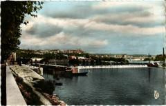 La Mulatiere - Le Barrage sur la Saone - Le Pont Pasteur - La Mulatière