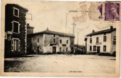 Aveize La Place Rhone 69 Aveize