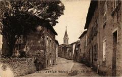 Aveize La Grande Rue Rhone 69 Aveize