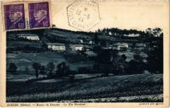 Aveize Route de Duerne Rhone 69 Aveize