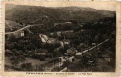 Tréves Burel - La gare, le moulin - Le Pont Percé - Trèves