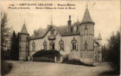 Sainte Foy lés Lyon - Hospice-Hopital Ancien Chateau de Bruck - Sainte-Foy-lès-Lyon