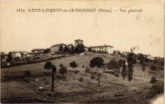 Saint Laurent de Chamousset - Vue generale - Saint-Laurent-de-Chamousset