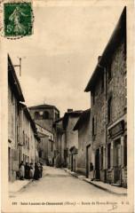 Saint Laurent de Chamousset - Route de Haute-Rivoire - Saint-Laurent-de-Chamousset