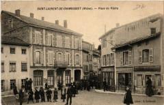 Saint Laurent de Chamousset - Place du Platre - Saint-Laurent-de-Chamousset