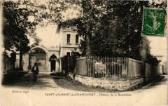 Saint Laurent de Chamousset - Chateau de la Bourdeliére - Saint-Laurent-de-Chamousset