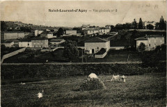 Saint Laurent D'Agny - Vue generale - Saint-Laurent-d'Agny