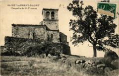 Saint Laurent D'Agny - Chapelle de St Vincent - Saint-Laurent-d'Agny