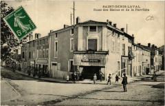Saint Genis Laval - Rues des Halles et de la Perriére - Saint-Genis-Laval