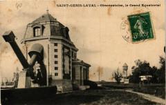 Saint Genis Laval - Observatoire, le Grand Equatorial - Saint-Genis-Laval