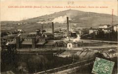 Sain Bel les Mines - PuitsSaint-Gobain aSaint-Pierre la Pallud - Sain-Bel
