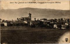 Laubepin Vue générale. Commune de Larajasse. - Larajasse