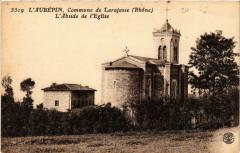 Laubepin Commune de Larajasse.l'Abside de l'Eglise - Larajasse