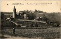 Jarnioux vue d'ensemble prise de la Route de Theize - Theizé