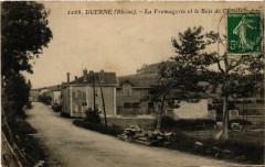Duerne - La Fromagerie et le Bois de l'Eglise 69 Duerne
